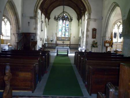 purleigh church interior